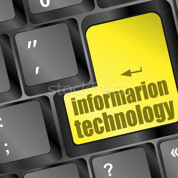 キー 情報技術 文字 ノートパソコンのキーボード コンピュータ オフィス ストックフォト © fotoscool