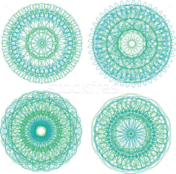Kleurrijk etniciteit ornament ingesteld patroon Stockfoto © fotoscool
