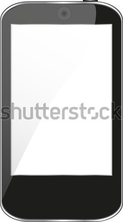 Touchpad isolé blanche design internet Photo stock © fotoscool