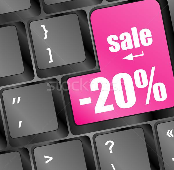ストックフォト: 販売 · キー · パーセンテージ · 場所 · ビジネス