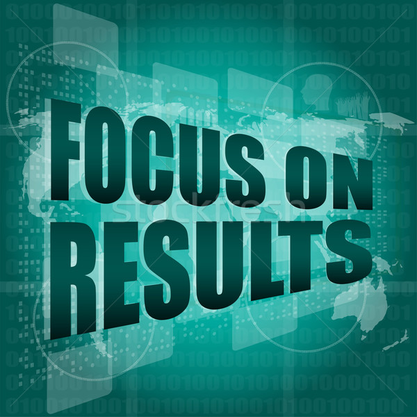 жизни стиль слов Focus цифровой Сток-фото © fotoscool