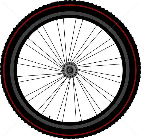 bike wheel tyre disk and gear Stock photo © fotoscool