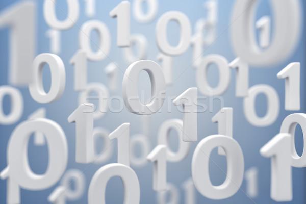 двоичный код иллюстрация воздуха безопасности веб чтение Сток-фото © FotoVika
