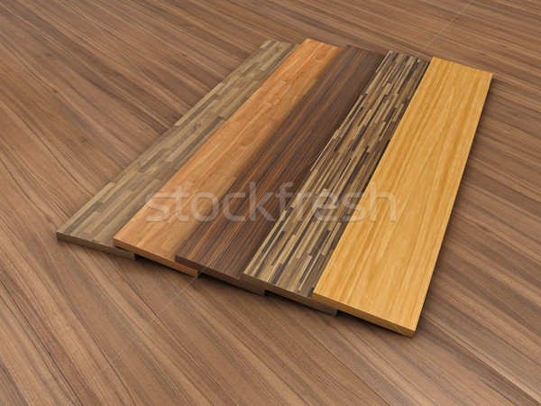 Timber floor Stock photo © FotoVika