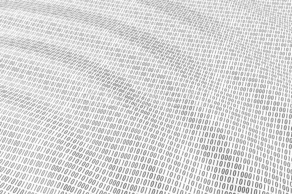 ストックフォト: バイナリコード · 波 · 海 · にログイン · 通信 · 黒