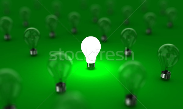 The lamps Stock photo © FotoVika