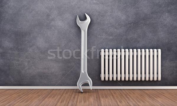 Repair of radiator Stock photo © FotoVika