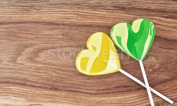 Two beautiful lollipops Stock photo © FotoVika