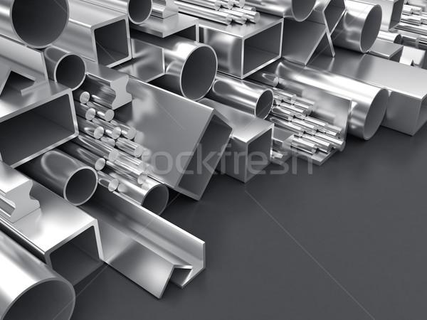 Industry of metallurgy Stock photo © FotoVika