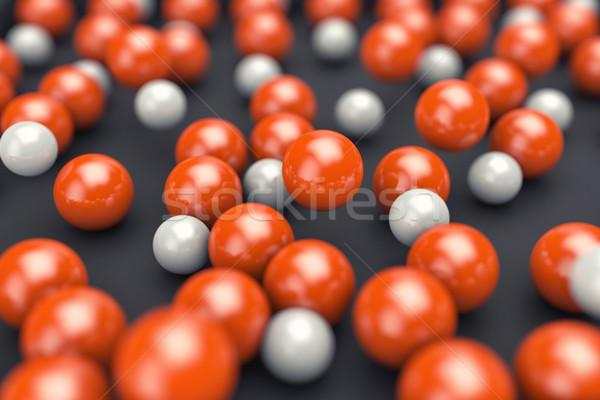 Balls different colors Stock photo © FotoVika