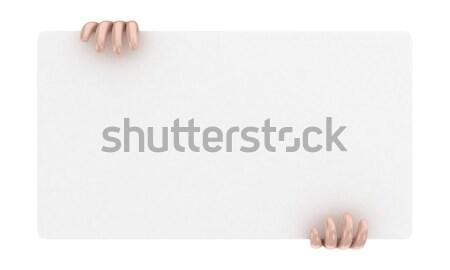 Announcement board Stock photo © FotoVika