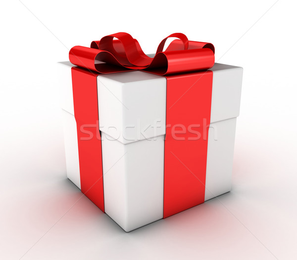 The gift Stock photo © FotoVika