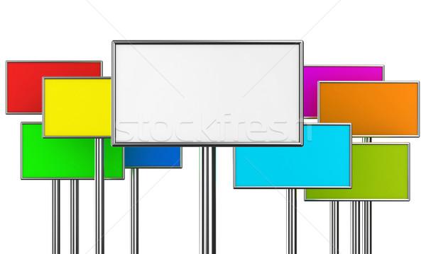 The billboard Stock photo © FotoVika