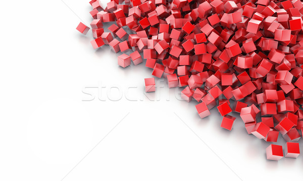 Background from cubes Stock photo © FotoVika