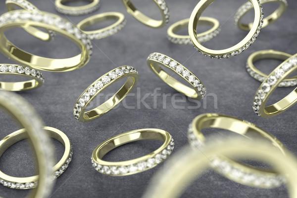 The rings Stock photo © FotoVika