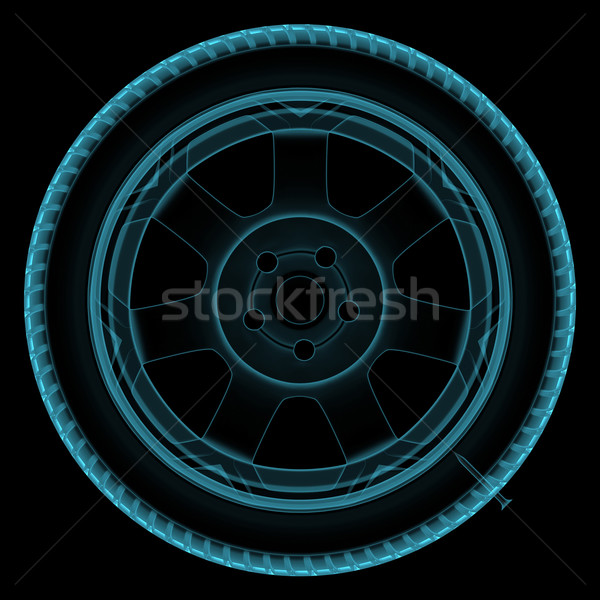 Wheel x-ray Stock photo © FotoVika