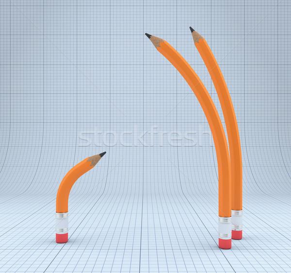 Simple pencils Stock photo © FotoVika