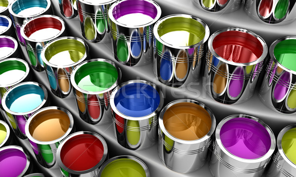 The paint Stock photo © FotoVika