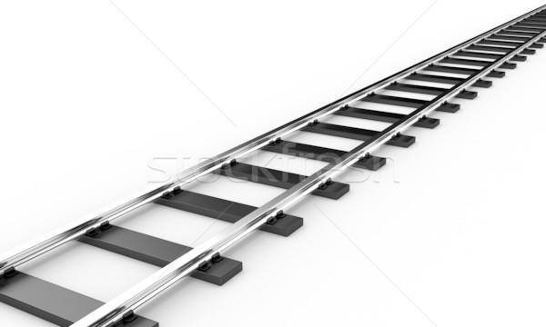 The railroad Stock photo © FotoVika