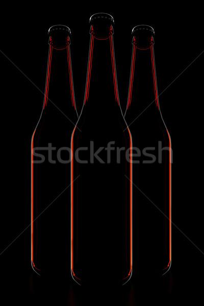 The bottles Stock photo © FotoVika
