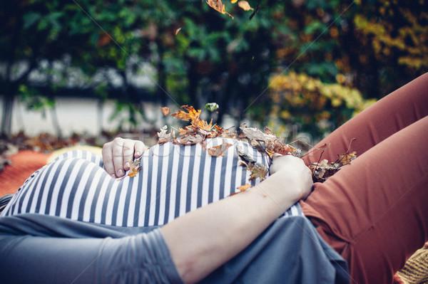 беременна девушки молодые беременная женщина большой живота Сток-фото © FotoVika