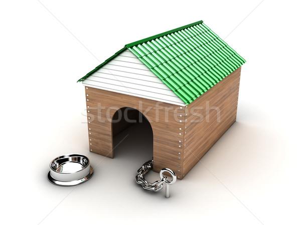 Doghouse Stock photo © FotoVika