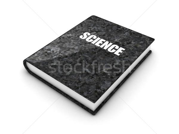 Granito libro illustrazione bianco scuola scienza Foto d'archivio © FotoVika
