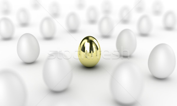 Gold egg Stock photo © FotoVika