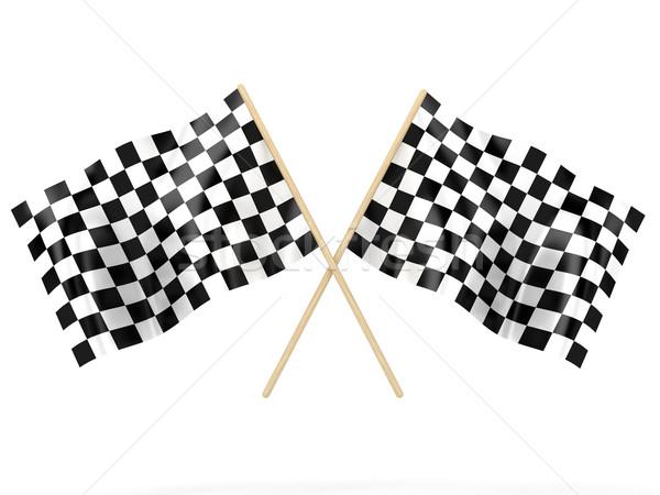 The flags Stock photo © FotoVika