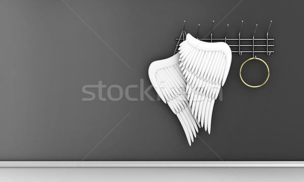 Angel wings Stock photo © FotoVika