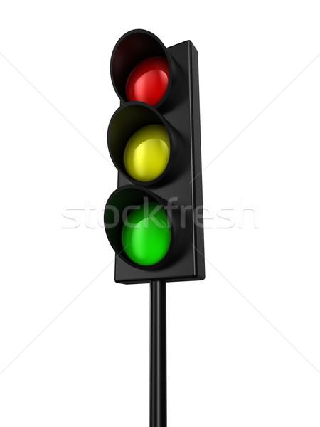 Traffic light Stock photo © FotoVika