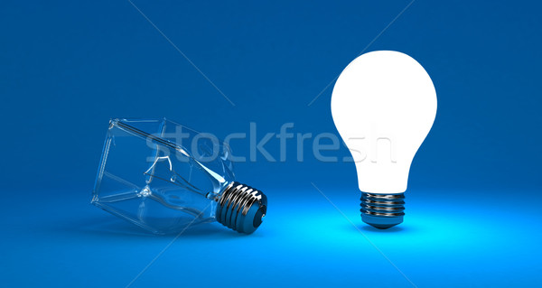 The lamp Stock photo © FotoVika