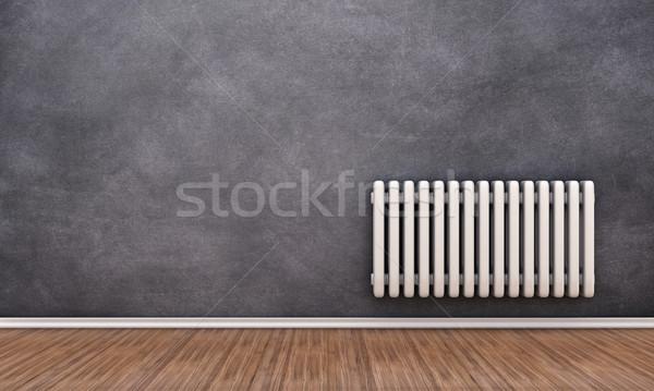 Radyatör duvar örnek boş oda dizayn oda Stok fotoğraf © FotoVika