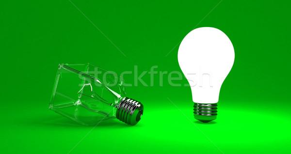 Lampada illustrazione luminoso altro business tecnologia Foto d'archivio © FotoVika
