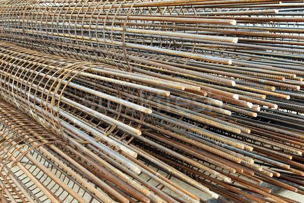 鋼 バー バー アップ 建設 具体的な ストックフォト © fouroaks