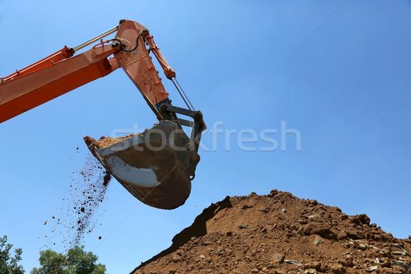 Digging Machine Stock photo © fouroaks