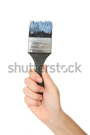 Paint Brush & Hand Stock photo © fouroaks