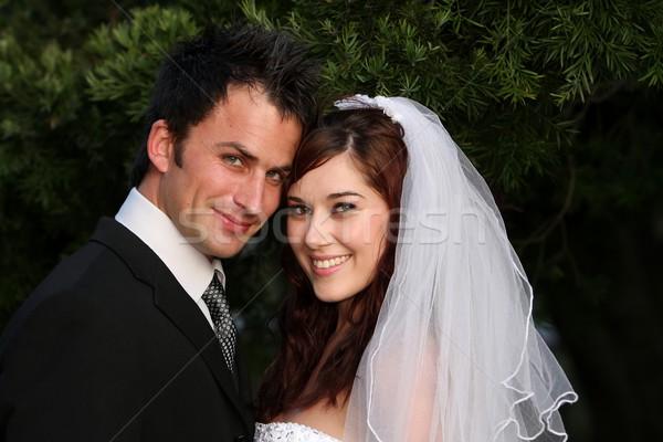 幸せ 結婚式 カップル 魅力的な 見える ストックフォト © fouroaks