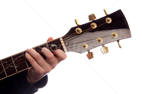 Guitar Chord C Major Stock photo © fouroaks