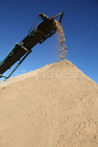 Sand Pile and Conveyor Stock photo © fouroaks