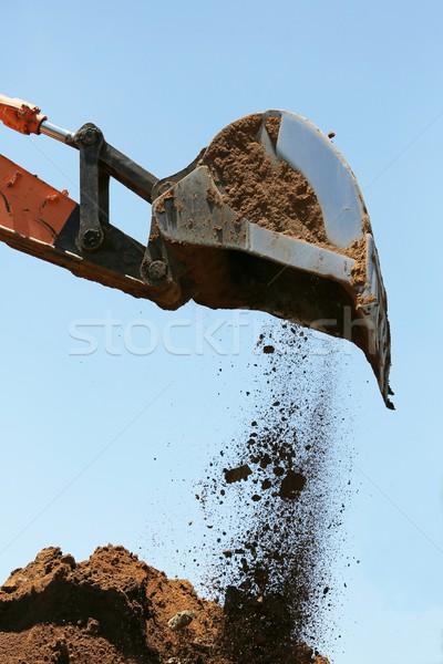 Excavator or Digger Stock photo © fouroaks