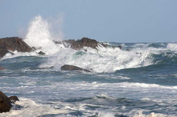 Stock photo: Stormy Sea and Waves