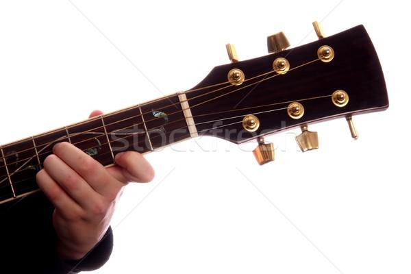 Guitar Chord B Major Stock photo © fouroaks