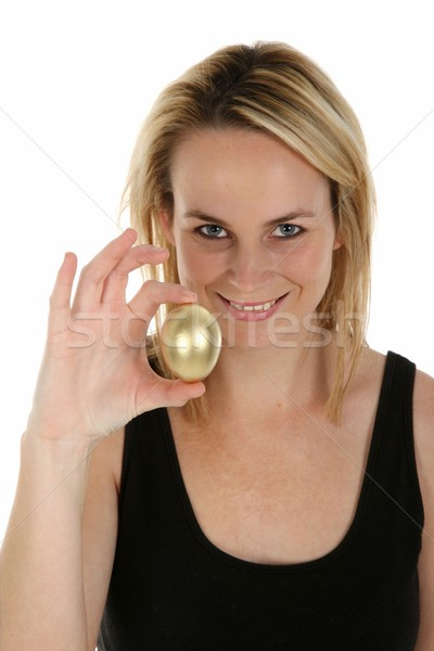 Golden Egg Saving Concept Stock photo © fouroaks