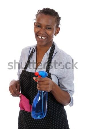 アフリカ 行使 健康 少女 小さな 女性 ストックフォト © fouroaks