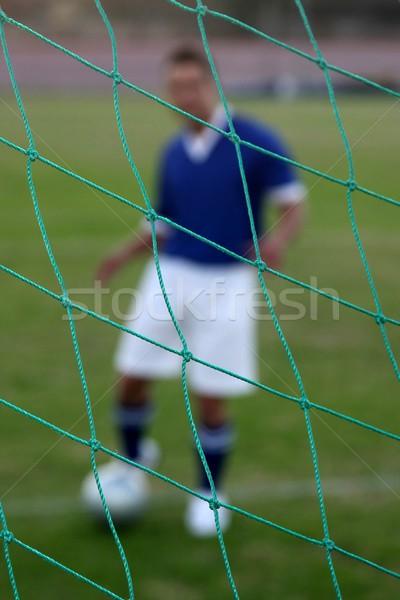 Abstarct Soccer Player Stock photo © fouroaks
