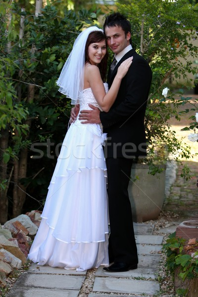 Wedding Couple Stock photo © fouroaks