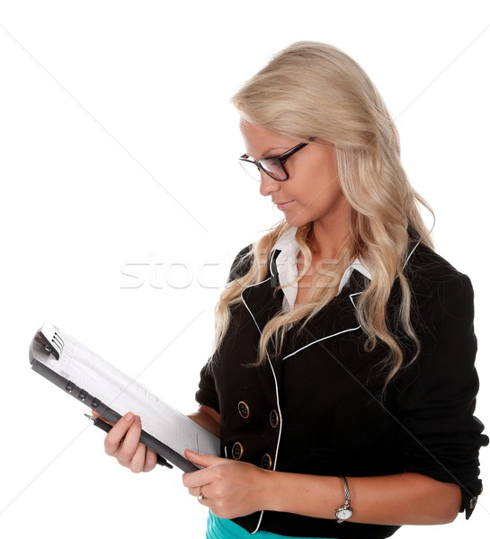 Pretty Businesss Woman Stock photo © fouroaks
