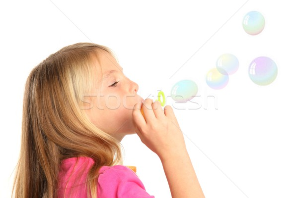 かなり 子供 女の子 ブロンド 髪 ストックフォト © fouroaks