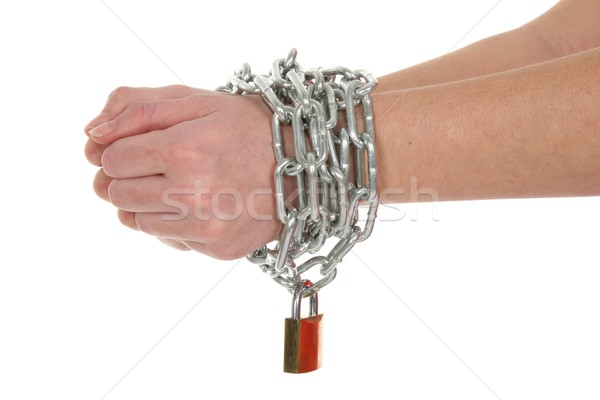 Chained Hands Stock photo © fouroaks